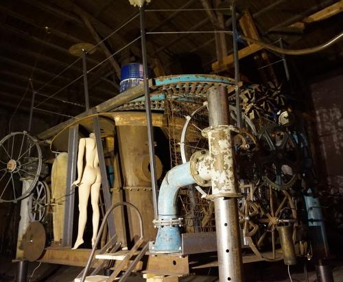 Die Jazzmaschine kurz vor der Fertigstellung